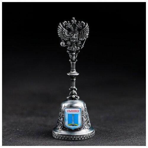 Колокольчик в форме герба «Ульяновск» (Основатели Симбирска), 11,8 х 4,2 см 4174854