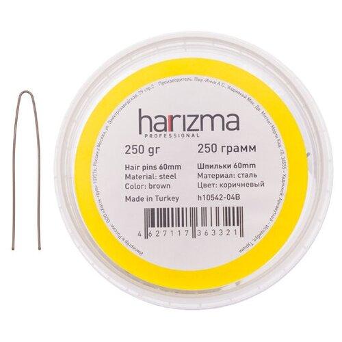 Купить Шпильки Harizma 60 мм прямые 250 гр коричневые h10542-04B