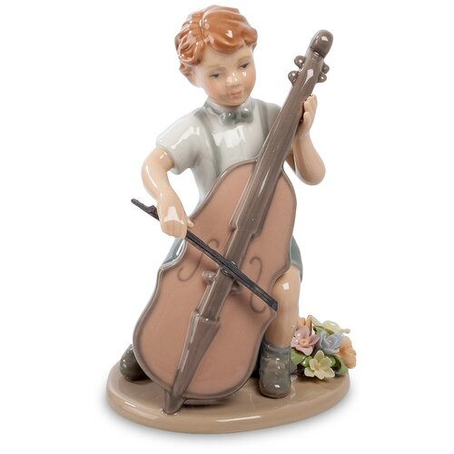 CMS-12/ 5 Фигурка Мальчик с виолончелью (Pavone)