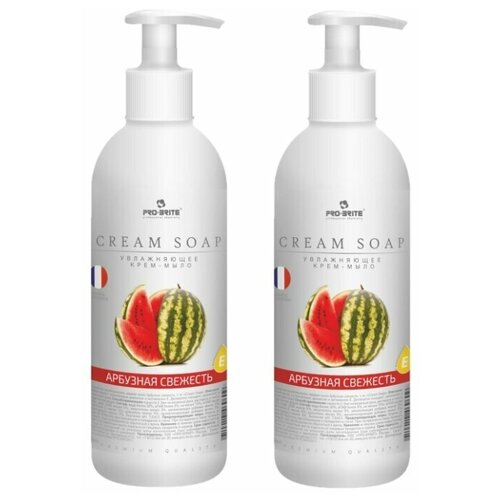 Купить Крем-мыло жидкое Pro-Brite Cream Soap Арбузная свежесть, 500 мл