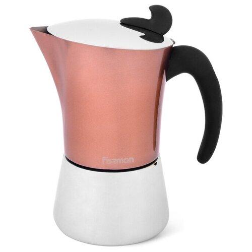Кофеварка Fissman гейзерная на 6 порций / 360 мл (нерж.сталь) (3317)