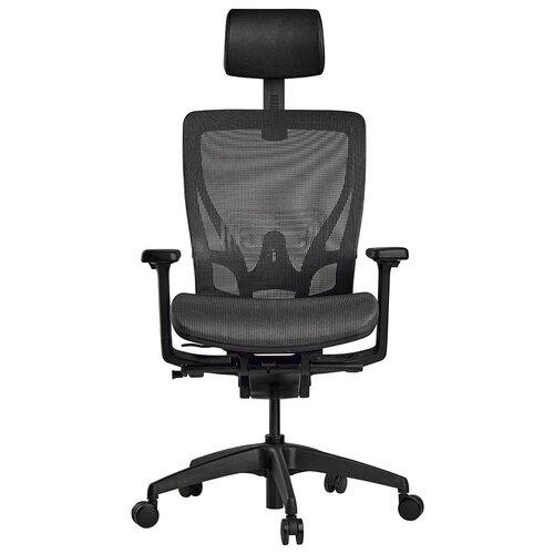 Эргономичное компьютерное кресло Schairs AEON-A01B CHARCOAL