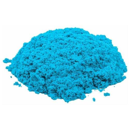 Купить Кинетический песок Космический песок базовый, голубой, 3 кг, пластиковый контейнер