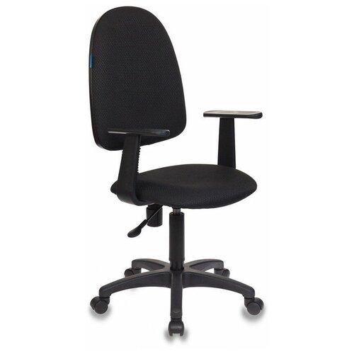 Офисное кресло Бюрократ Бюрократ CH-1300/Т, обивка: текстиль, цвет: ткань 15-21 (черный)