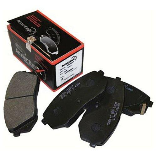 Дисковые тормозные колодки передние KORTEX KT3461T для Hyundai ix35, Hyundai Tucson, Kia Sportage (4 шт.) ветровики korea hyundai ix35 tucson ix