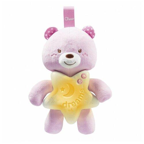 Фото - Подвеска-ночник Chicco Медвежонок Розовый 00009156100000 тарелка chicco easy feeding 6м розовый