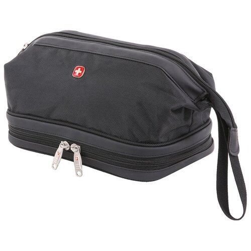 Несессер Swissgear, чёрный, 31х17х16 см, шт SA8756213