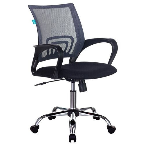 Компьютерное кресло Бюрократ CH-695N/SL офисное, обивка: текстиль, цвет: темно-серый/черный недорого
