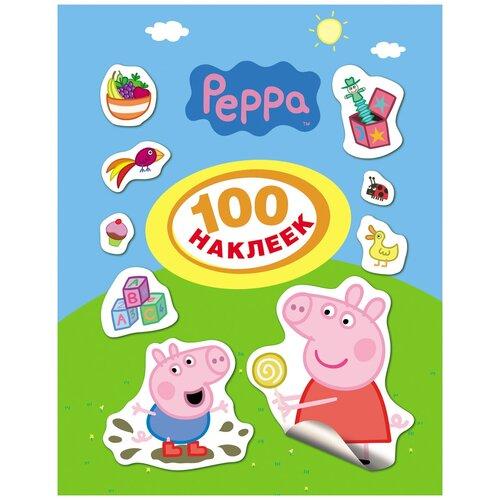 Фото - РОСМЭН Набор 100 наклеек Свинка Пеппа (24099) росмэн набор 100 наклеек герои
