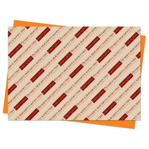 Цветной картон А3 в листах (оранжевый)