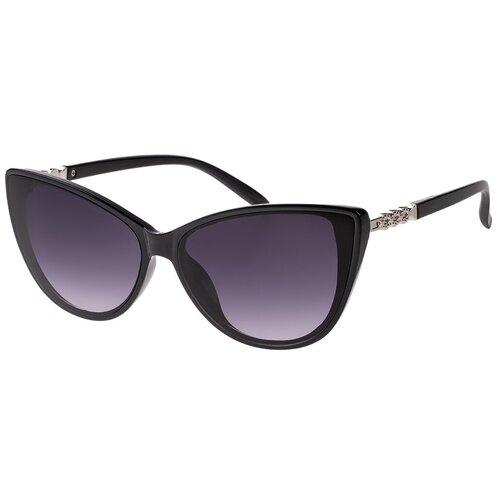 Солнцезащитные очки женские/Очки солнцезащитные женские/Солнечные очки женские/Очки солнечные женские/21kdgaer1202123c1vr черный,синий/Vittorio Richi/Кошачий глаз/модные