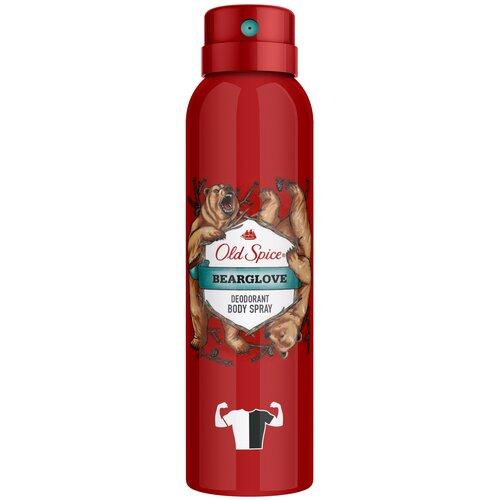 Дезодорант спрей Old Spice Bearglove, 150 мл дезодорант антиперспирант спрей мужской old spice bearglove 150 мл