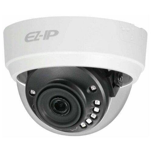 Фото - Видеокамера IP купольная с ИК подсветкой EZ-IP EZ-IPC-D1B20P-0280B видеокамера hdcvi купольная ez ez hac t1a11p 0280b