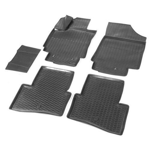 Фото - Комплект ковриков салона RIVAL 12310001 для Hyundai Creta 5 шт. черный комплект ковриков norplast np11 ldc 31 052 hyundai creta 5 шт черный