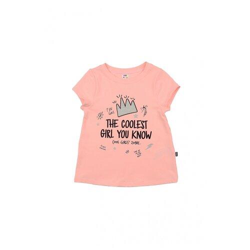 Фото - Футболка Mini Maxi 4692, цвет кремовый/розовый, размер 116 рубашка fendi размер 116 кремовый