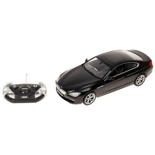 Легковой автомобиль Rastar BMW 6 Series (42600) 1:14 35 см черный легковой автомобиль rastar land rover discovery 3 21900 1 14 черный