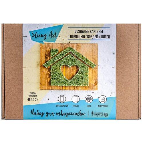 Купить String Art Lab Набор для творчества Дом (A4007), Поделки и аппликации