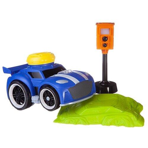 Купить Машинка ABtoys Автосити (C00423) синий/зеленый, Машинки и техника