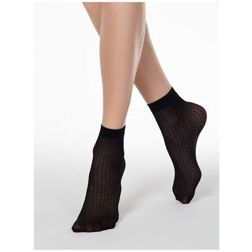 Капроновые носки Conte Elegant 16С-127СП, размер 23-25, nero