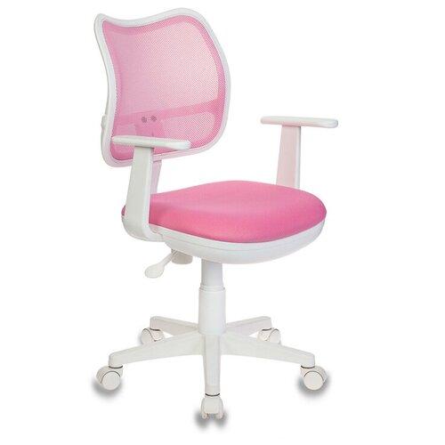 Компьютерное кресло Бюрократ CH-797 детское, обивка: текстиль, цвет: TW-13A розовый компьютерное кресло бюрократ ch 204nx детское детское обивка текстиль цвет синий карандаши