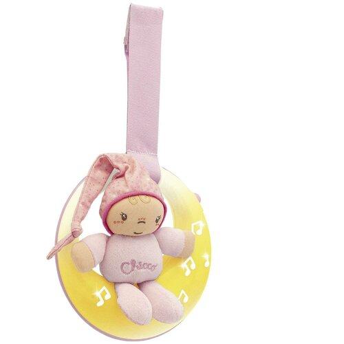 Купить Подвесная игрушка Chicco Спокойной ночи, Луна розовый, Подвески