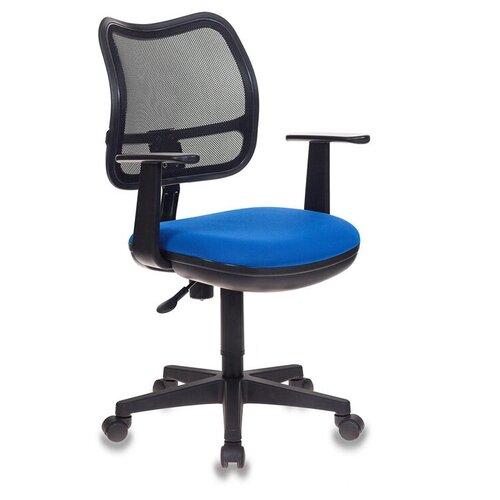 Компьютерное кресло Бюрократ CH-797 детское, обивка: текстиль, цвет: 26-21 компьютерное кресло бюрократ ch w797 abstract детское обивка текстиль цвет мультиколор абстракция