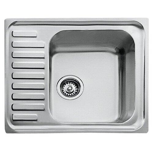 Врезная кухонная мойка 65 см TEKA Classic 1B 1/2D нержавеющая сталь/полированная