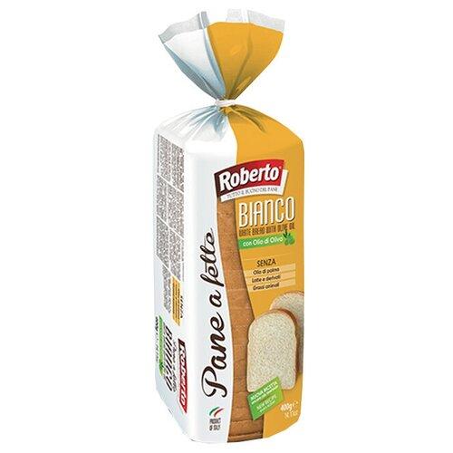 Roberto Хлеб Pane a fette Bianco пшеничный тостовый в нарезке, 400 г