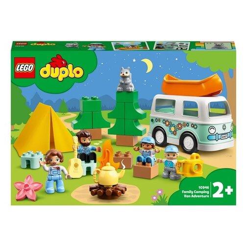 Купить Конструктор LEGO Duplo Town 10946 Семейное приключение на микроавтобусе, Конструкторы