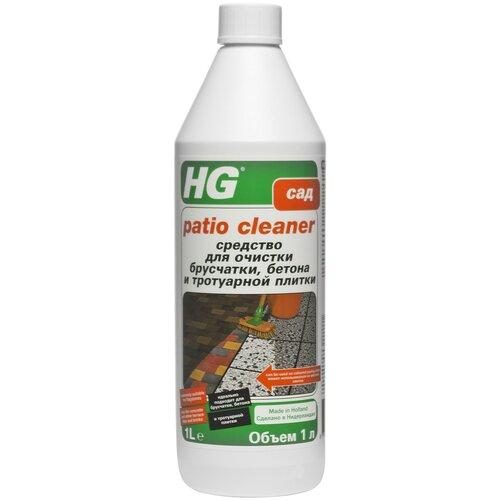Фото - Жидкость HG Средство для очистки брусчатки, бетона и тротуарной плитки, 1 л жидкость hg для гигиеничной очистки холодильника 500 мл