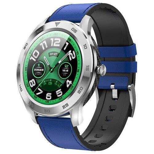 Умные часы XRide DT98, синий/серебристый
