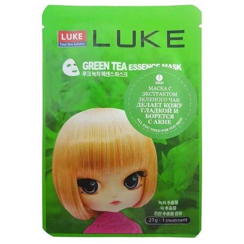 Купить LUKE маска с экстрактом зеленого чая Green Tea Essence Mask, 21 г