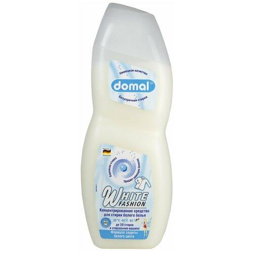 Гель для стирки Domal White Fashion, 0.75 л, бутылка domal