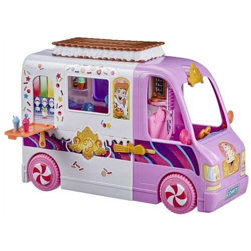 Hasbro Disney Princess Комфи фургон (E96175L0) белый/фиолетовый