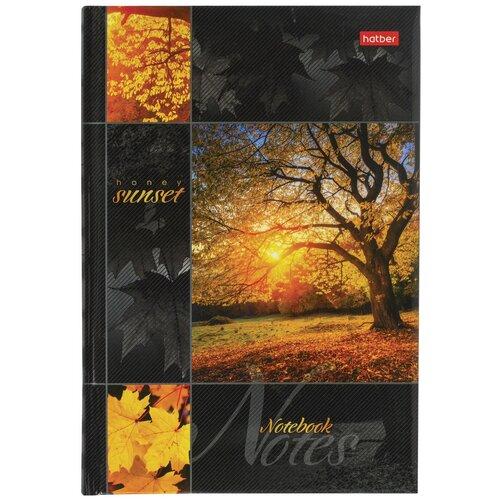 Купить Блокнот Hatber Закат А5, 120 листов (120ББп5В1), Блокноты