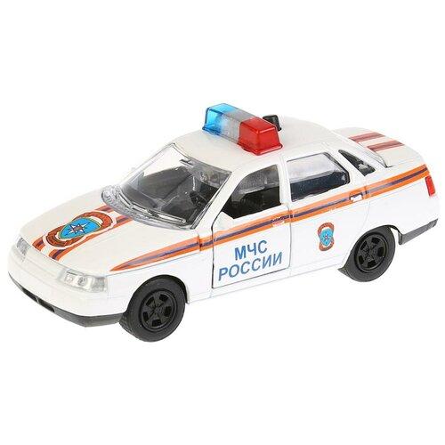 Легковой автомобиль ТЕХНОПАРК Lada 2110 МЧС (CT10-110-6) 1:43, белый