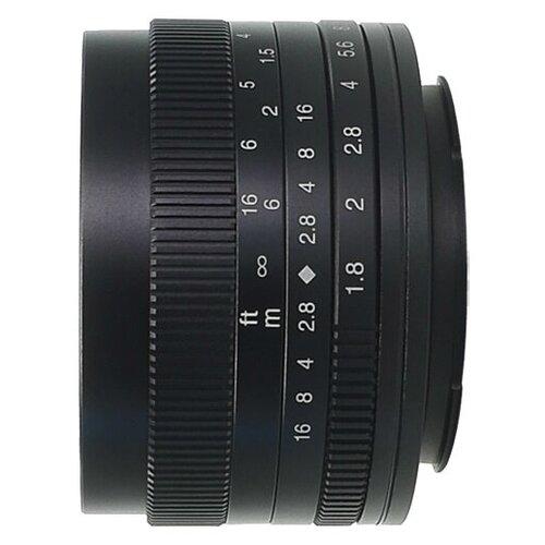 Объектив 7artisans 50mm f/1.8 Micro 4/3