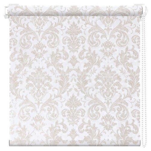 Рулонная штора АС Форос Дамаск (Белый ), 38х175 см