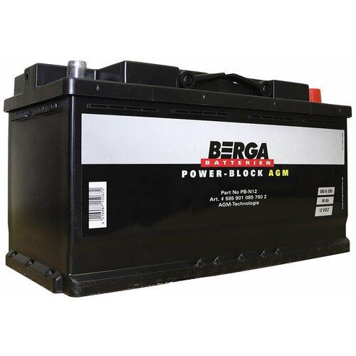 Автомобильный аккумулятор Berga PB-N12