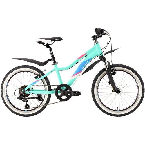 Подростковый горный (MTB) велосипед Welt Edelweiss 20 (2021) mint green (требует финальной сборки) горный mtb велосипед kellys desire 90 2019 grey green m требует финальной сборки