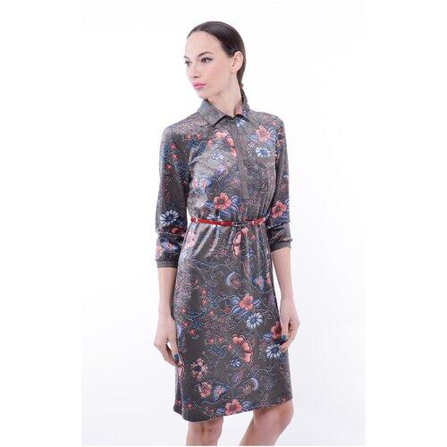 Фото - Женское платье Тамбовчанка 02845010-2 р.46 платье ichi 20109482 женское цвет фиолетовый 15518 winetasting однотонный р р 46 m