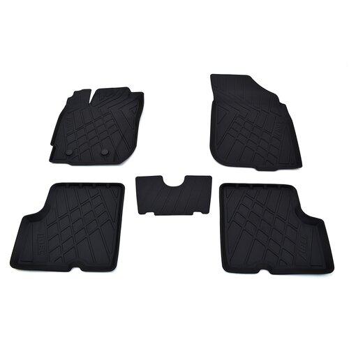 Фото - Комплект ковриков салона NorPlast NP11-LdC-69-100 для Renault Duster 5 шт. черный комплект ковриков norplast np11 ldc 31 052 hyundai creta 5 шт черный