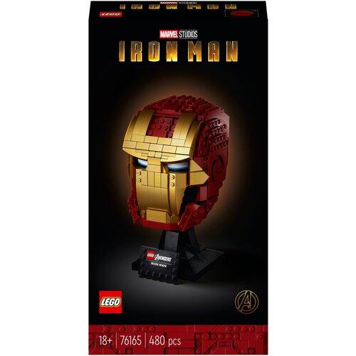 Конструктор LEGO Marvel Super Heroes 76165 Avengers Movie 4 Шлем Железного Человека