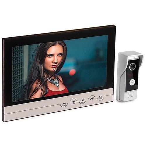 Домофон Eplutus V90RM - видеодомофон в квартиру, видеодомофон к подъездному домофону, домофон в квартиру цена, домофон в офис подарочная упаковка