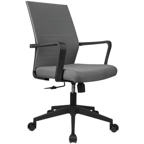 Компьютерное кресло Рива B818 офисное, обивка: текстиль, цвет: серый компьютерное кресло рива 8074 офисное обивка текстиль искусственная кожа цвет оранжевый
