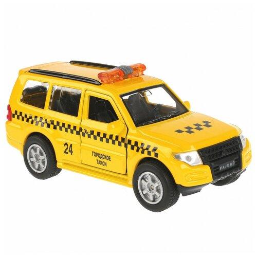 Машина Технопарк Mitsubishi Pajero Такси инерционная 256365