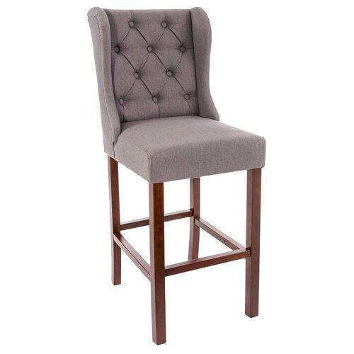 Стул Woodville Luton, дерево/текстиль, цвет: walnut/dark grey по цене 13 920