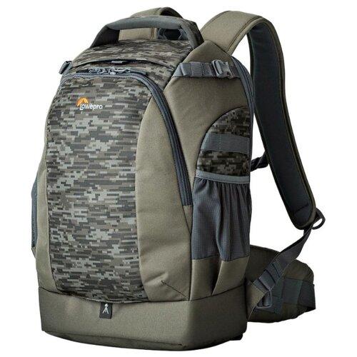 Фото - Рюкзак для фотокамеры Lowepro Flipside 400 AW II mica/pixel camo сумка для фотокамеры lowepro toploader zoom 45 aw ii синий