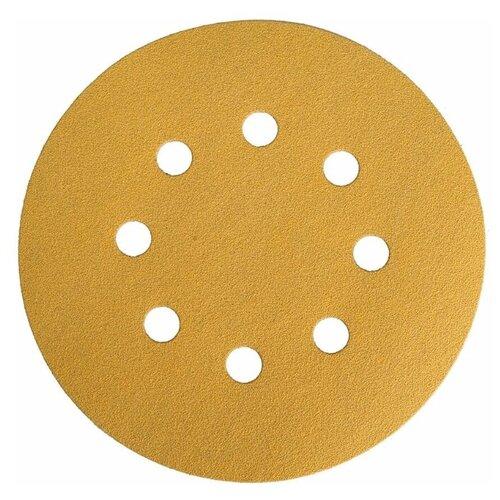 Абразив Mirka Gold, диски 125 мм, 8 отверстий, зерно P 220, 50 шт./уп