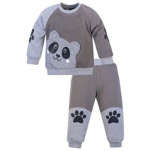 Купить Комплект одежды Утенок размер 98, серый/меланж, Комплекты и форма